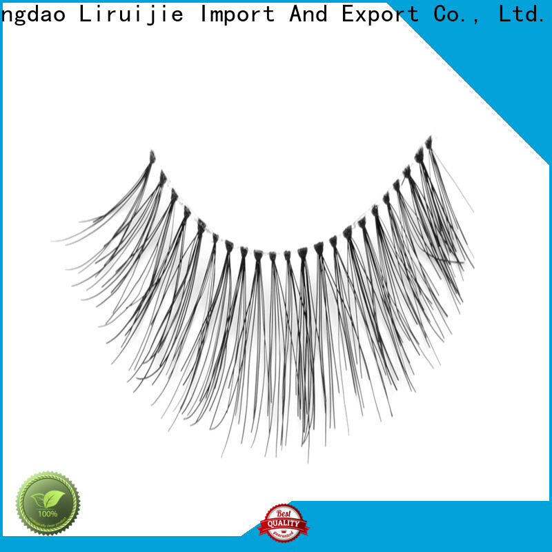 High-quality most natural eyelash extensions company for round eyes