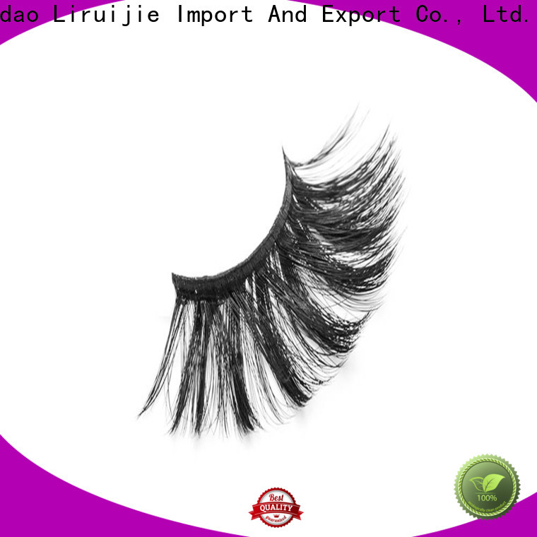 Liruijie New synthetic magnetic eyelashes manufacturers for round eyes