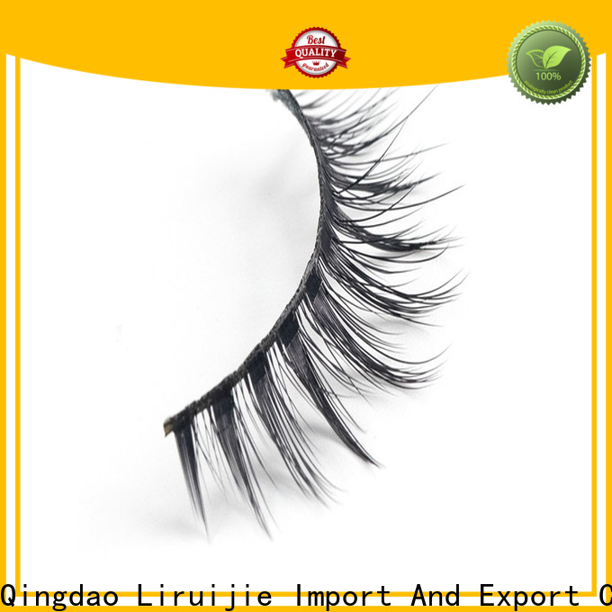 Liruijie Wholesale good cheap eyelashes company for almond eyes