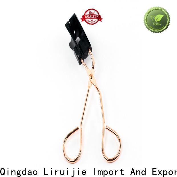 Liruijie false splendid lash heated eyelash curler for business for small eyes