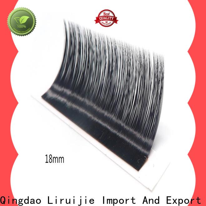 Liruijie lash eyelash extensions distributor supply for small eyes