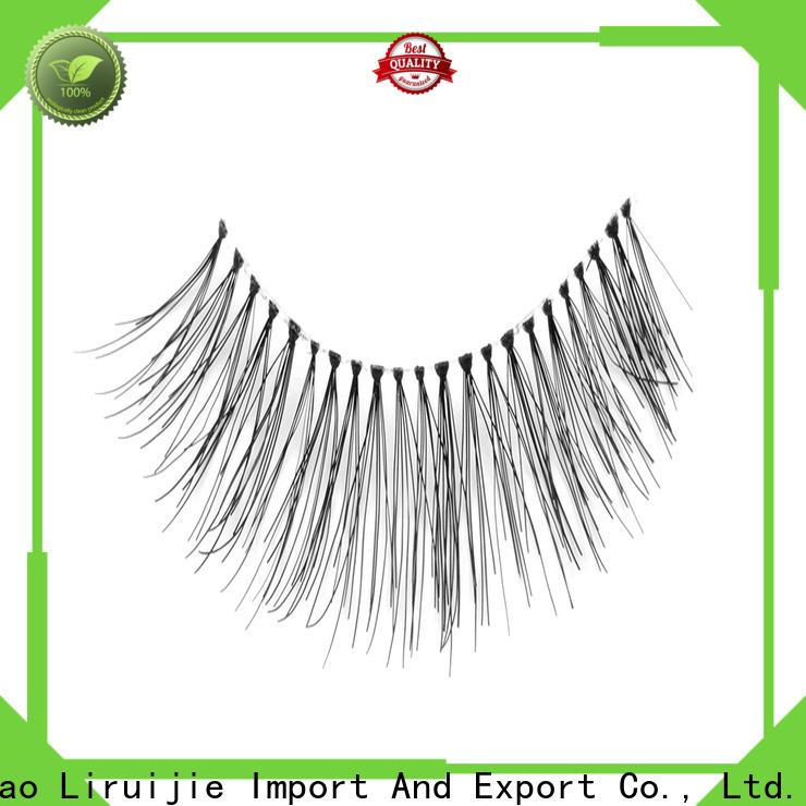Liruijie Best individual false eyelashes wholesale for business for almond eyes