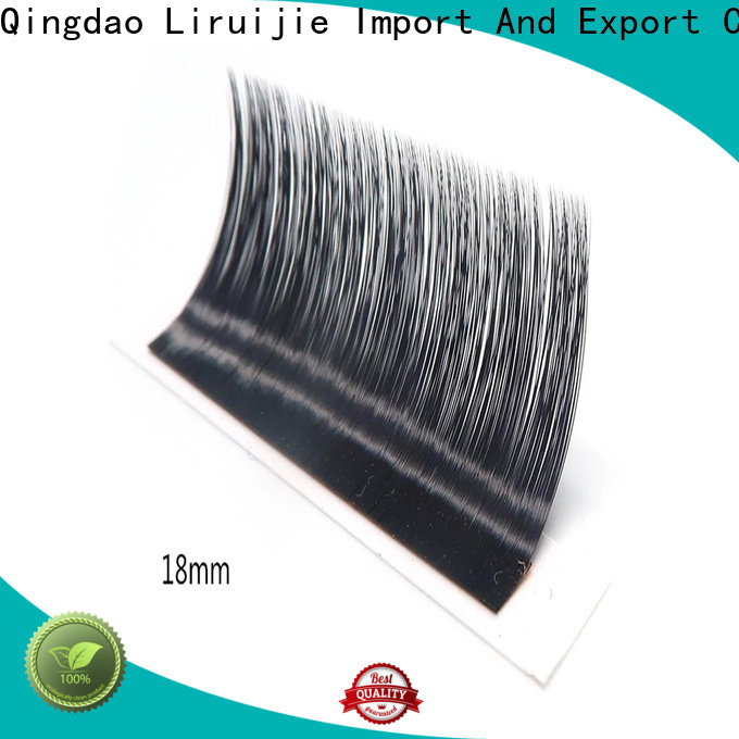 Liruijie Latest wholesale lash extensions company for straight lashes