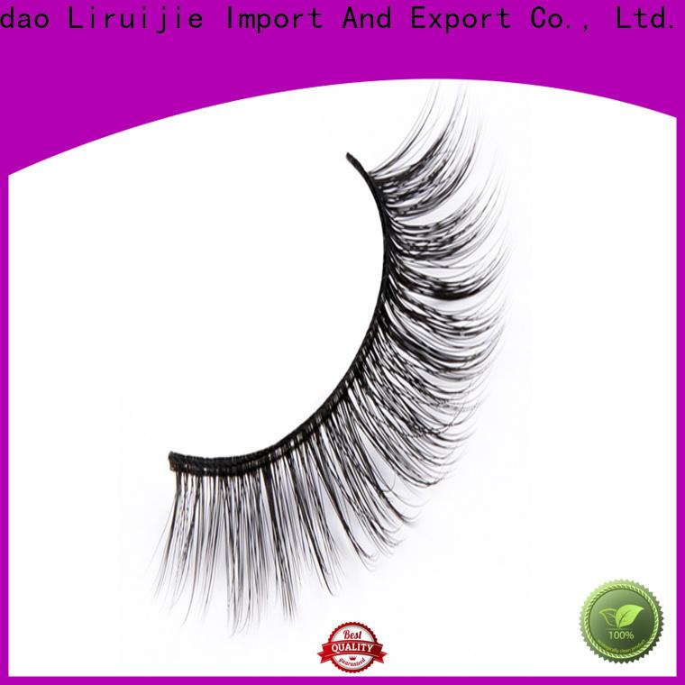 Liruijie fluffy fake eyelashes wholesale for business for round eyes