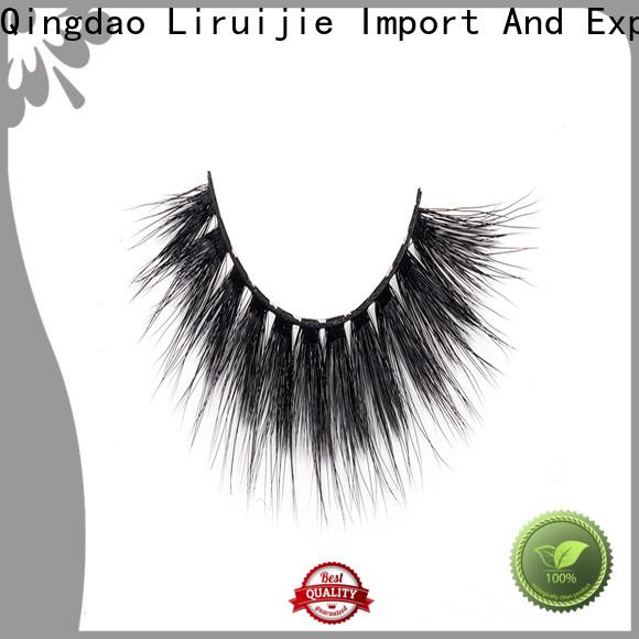 Liruijie Custom synthetic magnetic eyelashes factory for Asian eyes