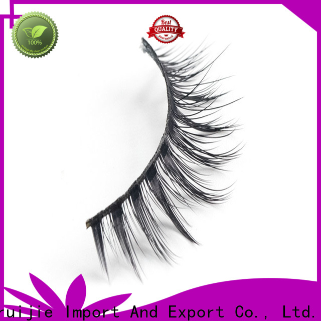 Liruijie thick 3d synthetic lashes company for round eyes