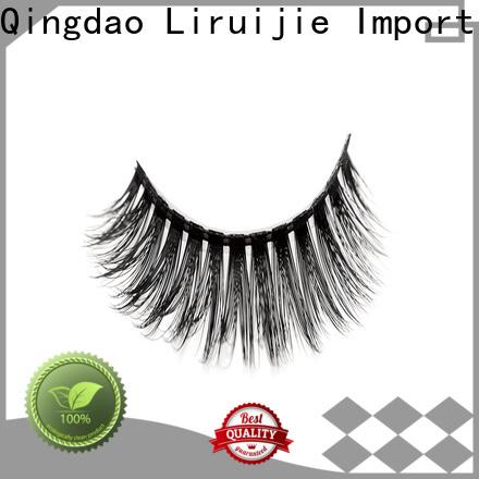 Liruijie eyelash eyelashes supplier factory for almond eyes