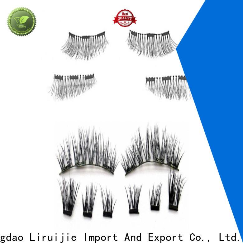 Liruijie best eyelashes to get supply for round eyes