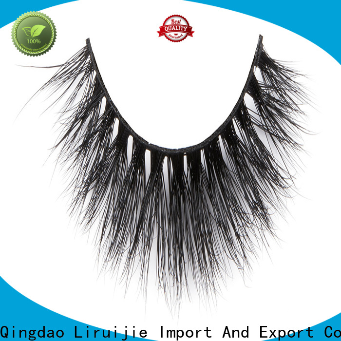 Liruijie High-quality mink eyelashes for sale factory for beginners