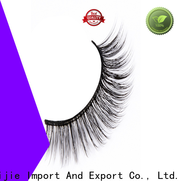 Liruijie fluffy synthetic eyelash suppliers factory for round eyes