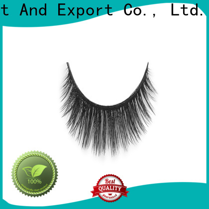 Liruijie fiber synthetic color eyelashes for business for Asian eyes