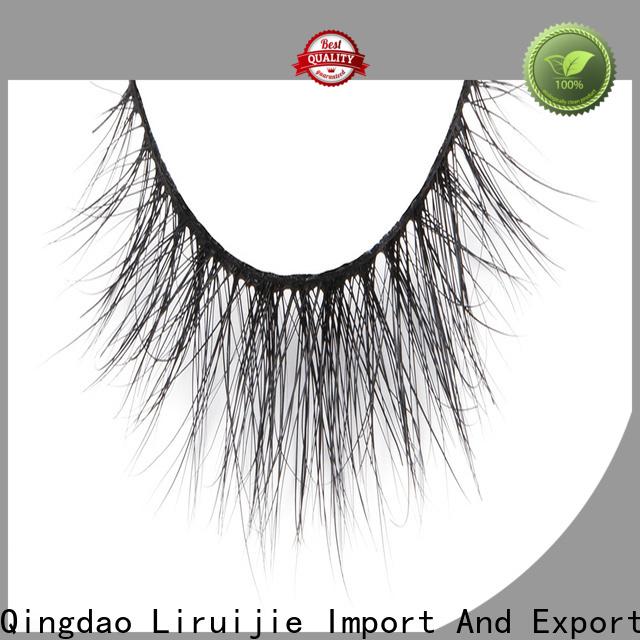 Liruijie dramatic full set of mink eyelash extensions for business for beginners