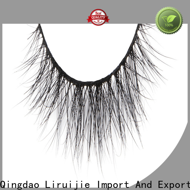 Liruijie dramatic full set of mink eyelash extensions for business for beginners