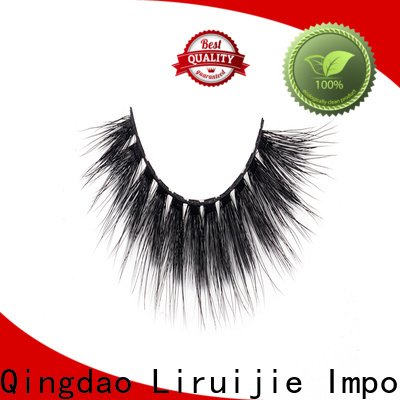 Liruijie series faux mink synthetic eyelashes supply for beginners