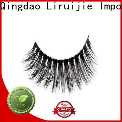 Liruijie High-quality synthetic eyelashes supply for round eyes