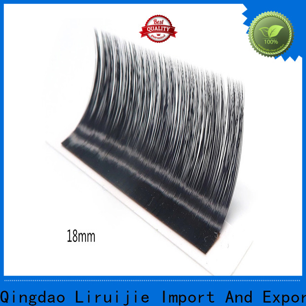 Liruijie real russian lashes supplier suppliers for beginners