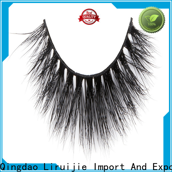 Liruijie eyelashes soft mink lashes for business for extensions
