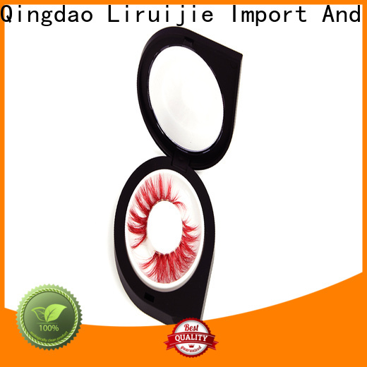 Liruijie packaging pack of lashes company for mink eyelashes