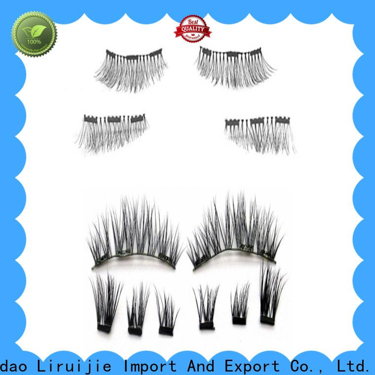 Liruijie top rated eyelash extensions supply for almond eyes