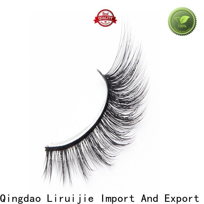 Liruijie fluffy long lasting false eyelashes suppliers for Asian eyes