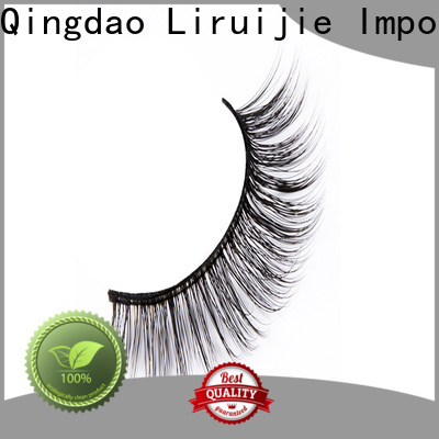 Liruijie chemical synthetic lashes company for Asian eyes