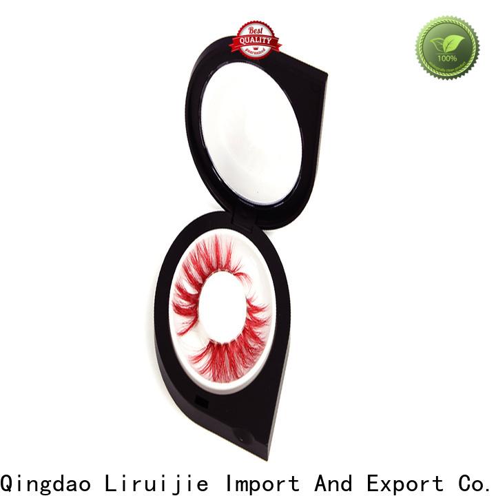 Liruijie Latest pink eyelash case company for mink eyelashes