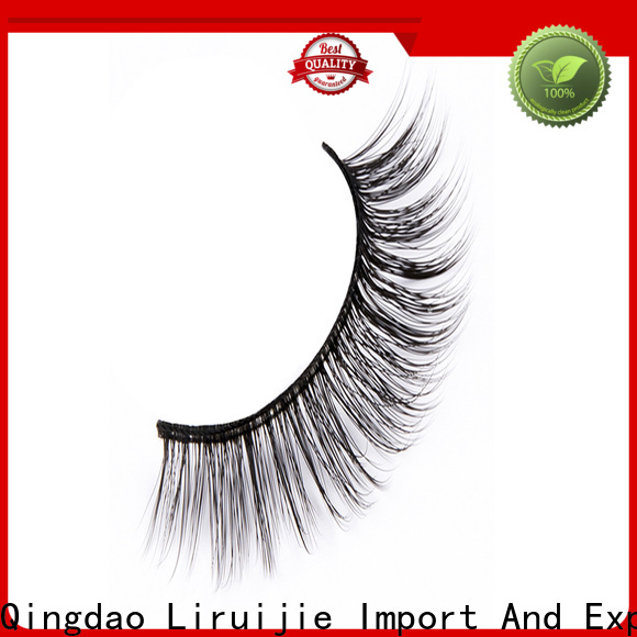 Best synthetic eyelash wholesale 3d for business for almond eyes