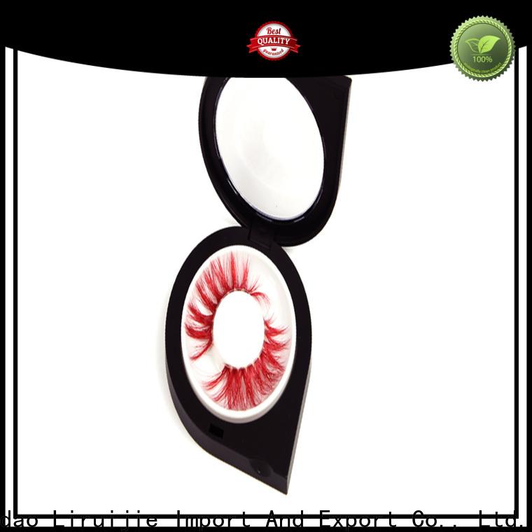 beauty magnet store & round eyelash box & fake eyelashes long