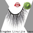 Liruijie Best fluffy mink eyelashes company for small eyes