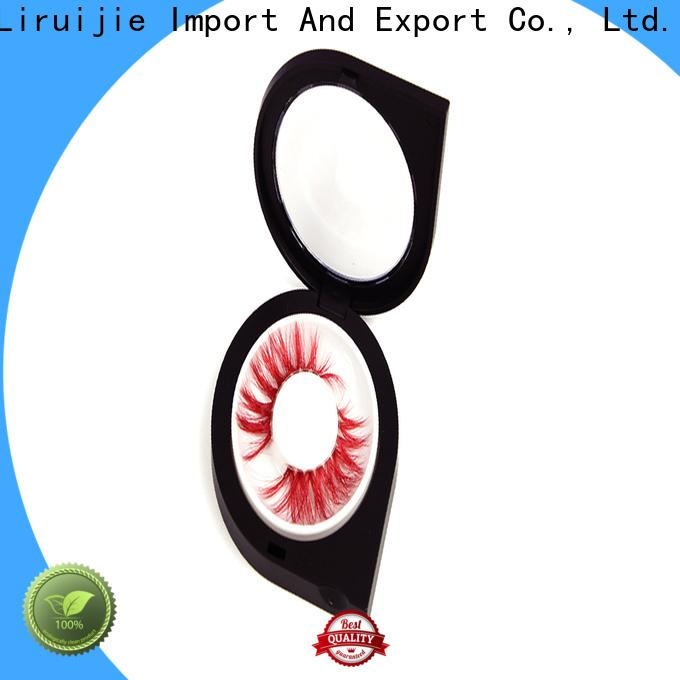 Liruijie packaging fake eyelash case factory for mink eyelashes