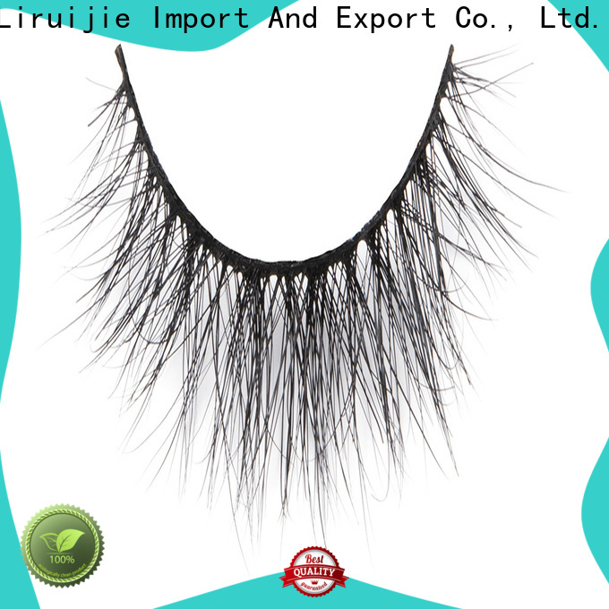 Liruijie New faux mink eyelash extensions company for beginners
