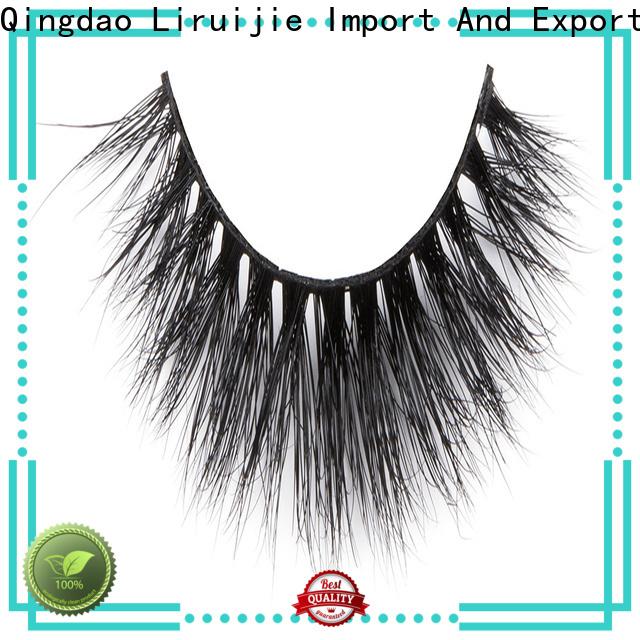 Liruijie High-quality fluffy mink eyelashes factory for beginners
