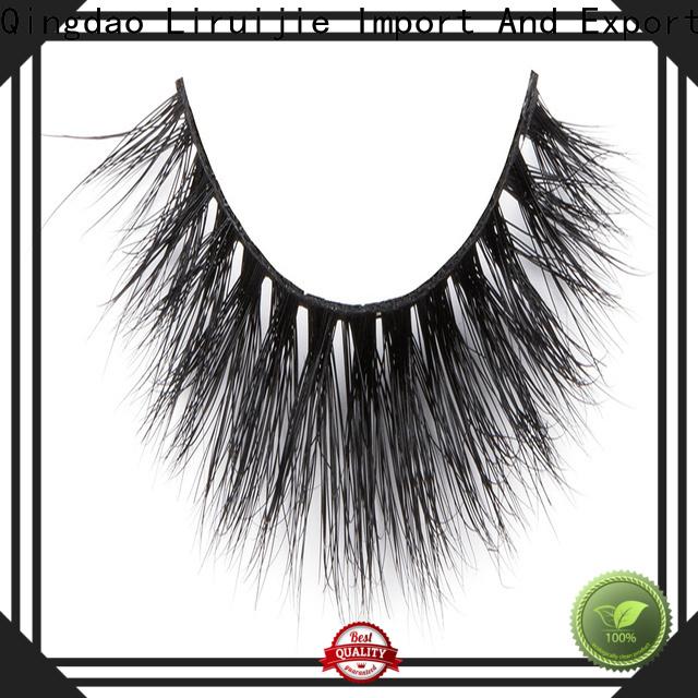 Liruijie Wholesale real mink fur eyelashes factory for beginners