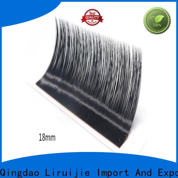 Liruijie eyelash flare eyelash extensions manufacturers for round eyes