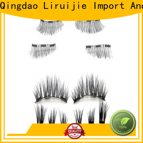Custom silk eyelash extensions wholesale factory for round eyes