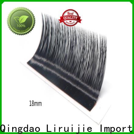 Liruijie eyelash faux mink eyelash extensions wholesale suppliers for small eyes