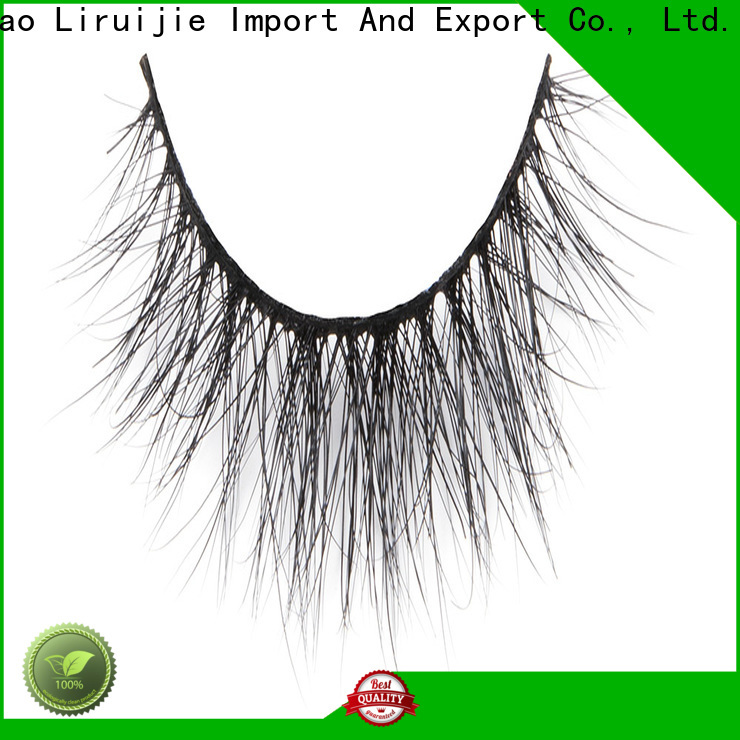 Liruijie lashes faux mink lashes wholesale supply for beginners