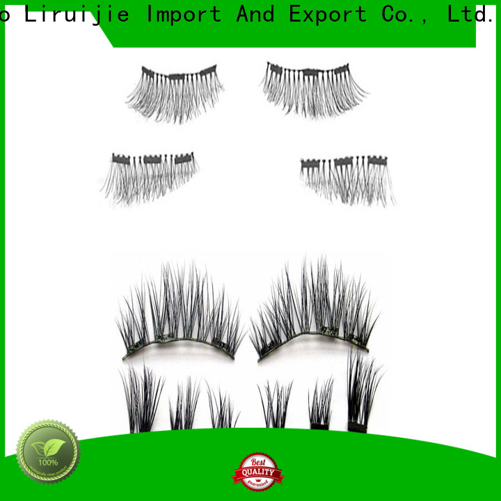Liruijie High-quality faux mink eyelash extensions suppliers suppliers for round eyes