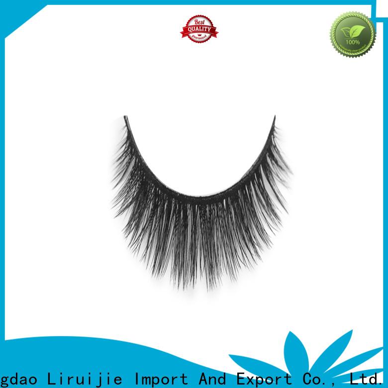 Liruijie New false eyelashes wholesale factory for almond eyes