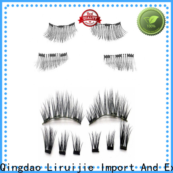 Liruijie siberian mink eyelash extensions suppliers factory for Asian eyes