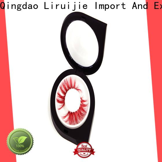 Liruijie eyelash discount eyelashes wholesale company for mink eyelashes