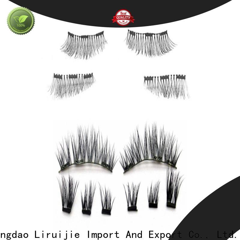 Liruijie taiwan eyelashes wholesale manufacturers for round eyes