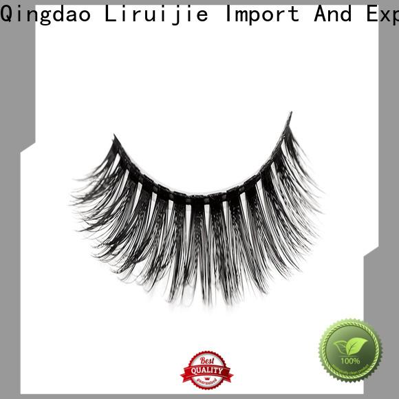 Liruijie Latest synthetic false eyelashes suppliers for round eyes