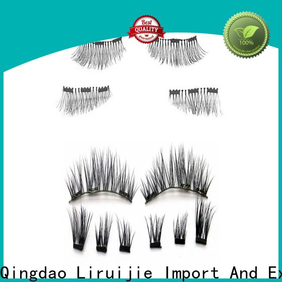 Liruijie Top long lasting eyelash extensions suppliers for almond eyes