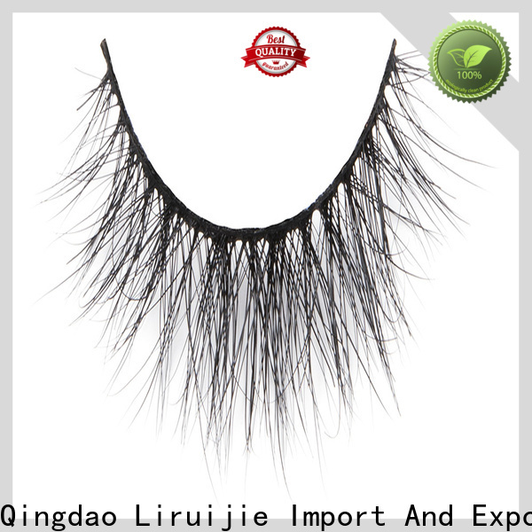 Liruijie eyelashes mink lashes wholesale private label factory for beginners