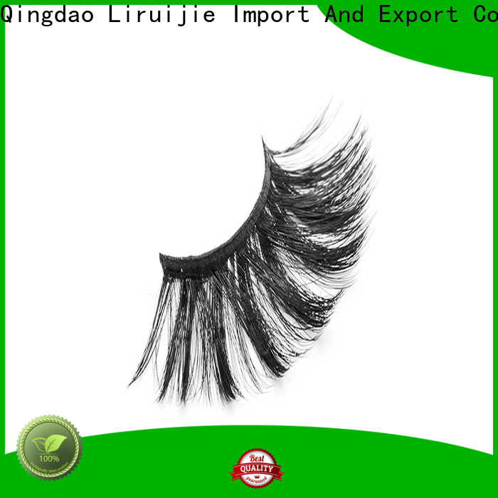Liruijie synthetic wholesale individual lashes suppliers for Asian eyes