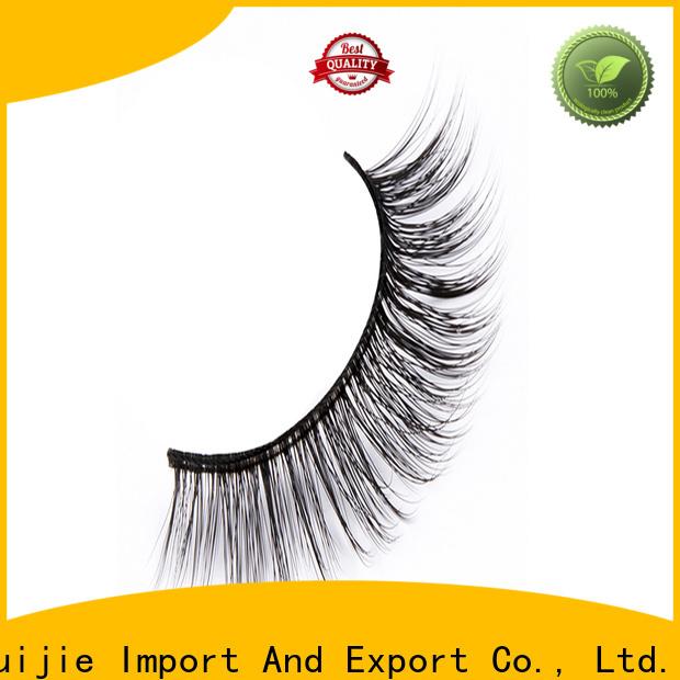 Liruijie Latest synthetic false eyelashes suppliers for Asian eyes