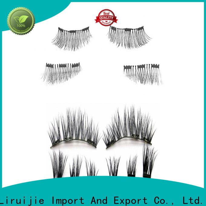 Liruijie wholesale false eyelashes supplier company for round eyes