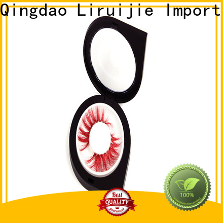 Liruijie Latest human hair eyelashes wholesale for business for eyelash extensions