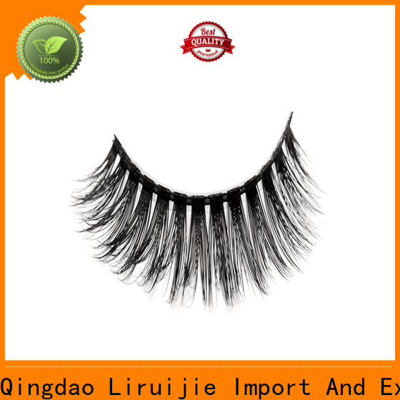Liruijie High-quality synthetic magnetic eyelashes supply for beginners